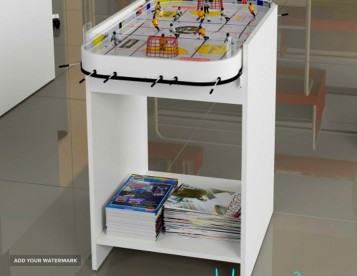 table-hockey-stand